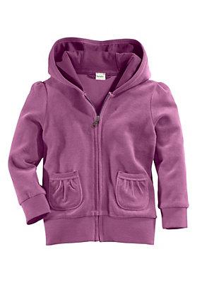 schulanfang - Jacke aus reinem Bio-Baumwoll-Nicki