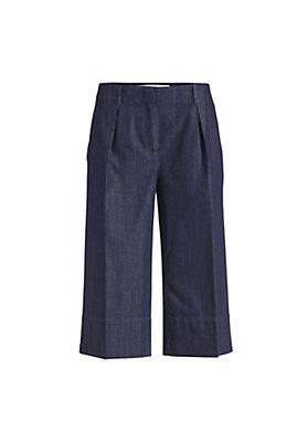 - Jeans Culotte aus reinem Bio-Denim