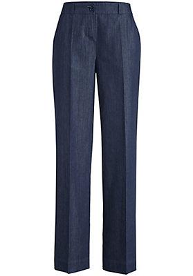 - Jeans Flared aus reinem Bio-Denim