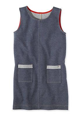 - Jeans Jersey Kleid aus reiner Bio-Baumwolle