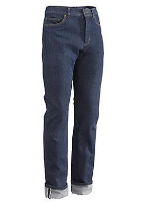 - Jeans Selvedge aus reinem Bio-Denim
