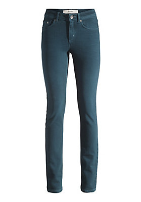 - Jeans Slim Fit Coloured Denim aus Bio-Baumwolle