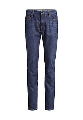 - Jeans Tapered Fit aus reinem Bio-Denim