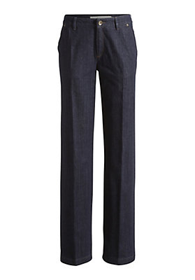 - Jeans Wide Leg aus Bio-Baumwolle