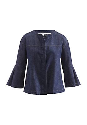 - Jeansjacke aus reiner Bio-Baumwolle