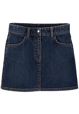 schulanfang - Jeansrock aus reiner Bio-Baumwolle