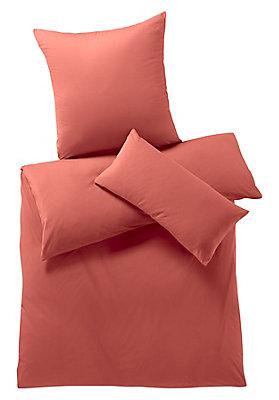 - Jersey-Bettwäsche aus reiner Bio-Baumwolle