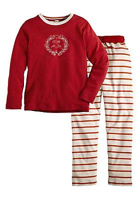 - Jersey-Pyjama aus reiner Bio-Baumwolle