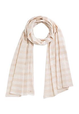 - Jersey-Schal aus Bio-Baumwolle mit Schurwolle
