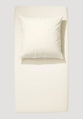 - Jersey-Spannbetttuch aus reiner Bio-Baumwolle