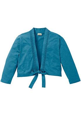 - Jerseyjacke aus reiner Bio-Baumwolle