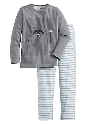- Jungen Pyjama aus reiner Bio-Baumwolle