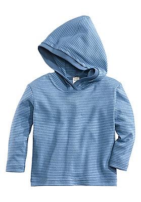 - Kapuzen-Shirt aus reiner Bio-Baumwolle