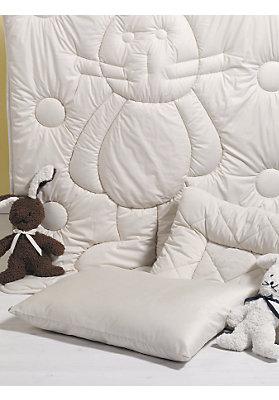 Bettwaren - Kinder-Kissen Schurwoll-Vlies