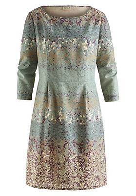 - Kleid aus Bio-Baumwolle mit Seide