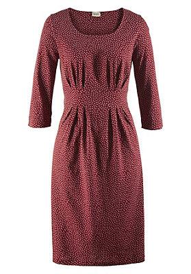 - Kleid mit Punkten aus reiner Bio-Baumwolle
