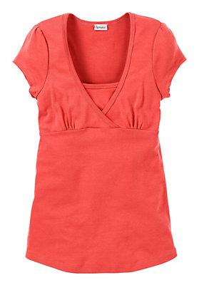 Shirts - Kurzarm-Stillshirt aus reiner Bio-Baumwolle