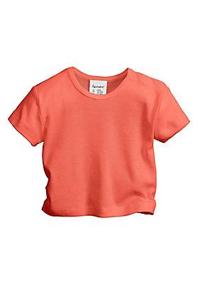 - Kurzarmshirt aus reiner Bio-Baumwolle