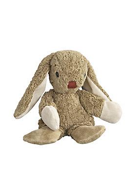 - Kuschelhase aus Bio-Baumwolle mit Schurwolle