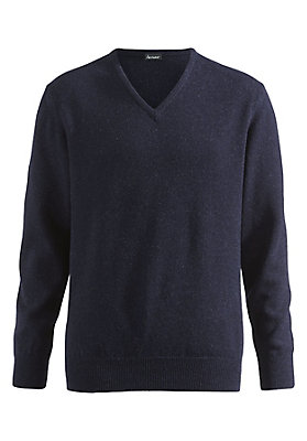 - Lambswool V-Pullover