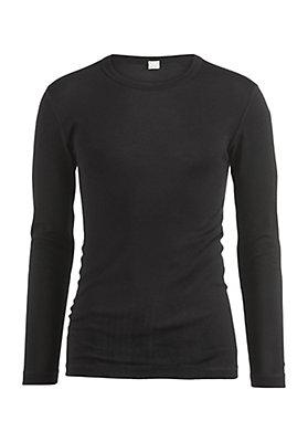 - Langarm-Shirt PureMIX aus Bio-Merinowolle mit Seide