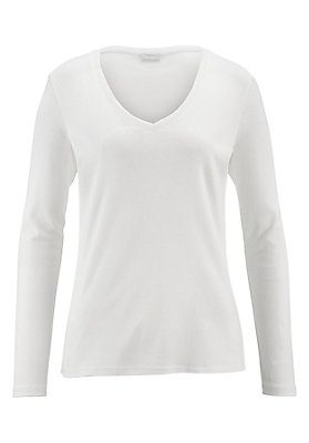 - Langarm-Shirt aus reiner Bio-Baumwolle