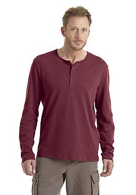 - Langarm Shirt mit Knopfleiste
