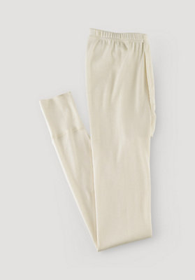 - Lange Herren-Unterhose aus reiner Bio-Baumwolle