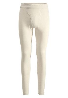 Unterhosen - Lange Pants aus Bio-Merinowolle mit Seide