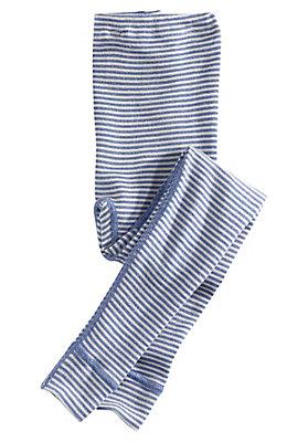 - Lange Unterhose aus Schurwolle mit Seide