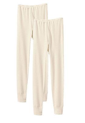 - Lange Unterhose für Kinder im 2er-Set aus reiner Bio-Baumwolle