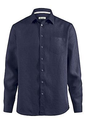 - Leinenhemd comfort fit