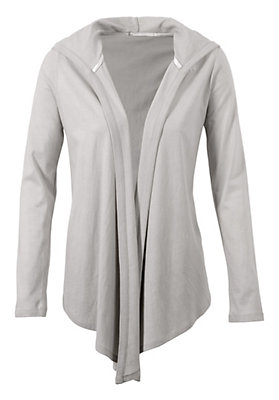 kw37-2014-damen-sale-70-prozent - Long-Jacke aus Bio-Baumwolle mit Kapok