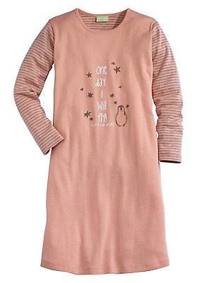 - Mädchen Nachthemd aus reiner Bio-Baumwolle