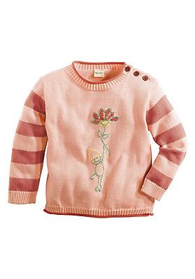 - Mädchen-Pullover mit Motiv
