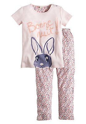 - Mädchen-Pyjama aus reiner Bio-Baumwolle