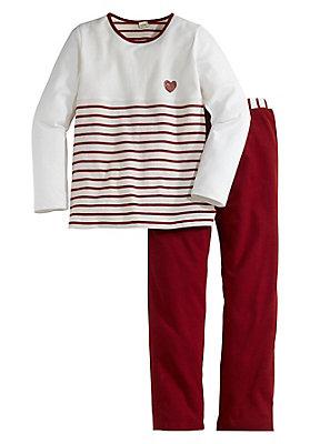 - Mädchen Pyjama aus reiner Bio-Baumwolle