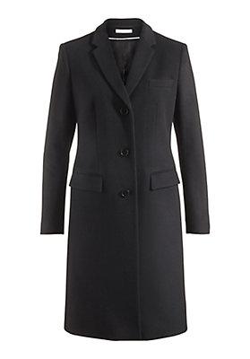 - Mantel aus Merinowolle mit Kaschmir