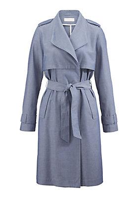 - Mantel aus reiner Bio-Baumwolle