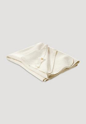 - Moltonauflage aus reiner Bio-Baumwolle