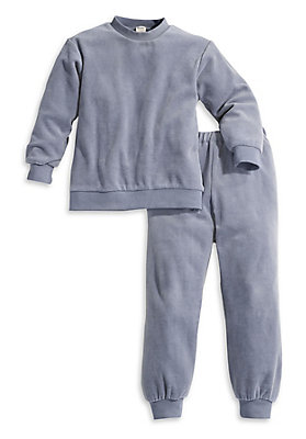 Schlafwäsche - Nicki-Schlafanzug aus reiner Bio-Baumwolle