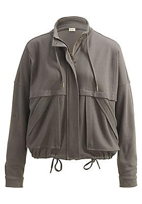 Jacken - Oversize-Jacke aus reiner Bio-Baumwolle