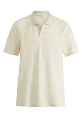 - Polo-Shirt aus Hanf mit Bio-Baumwolle