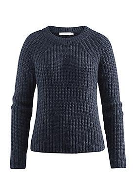- Pullover aus Alpaka mit Baumwolle