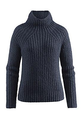 - Pullover aus Alpaka mit Bio-Baumwolle