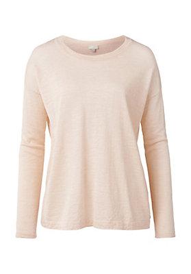- Pullover aus Alpaka mit Leinen
