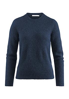 - Pullover aus Alpaka mit Mohair und Seide