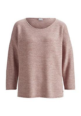 - Pullover aus Bio-Schurwolle mit Bio-Baumwolle