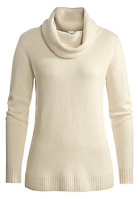 sm-einfarbig - Pullover mit Rollkragen aus reinem Kamelhaar