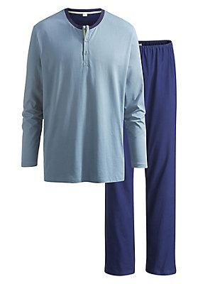 neu-haka-waesche - Pyjama aus reiner Bio-Baumwolle